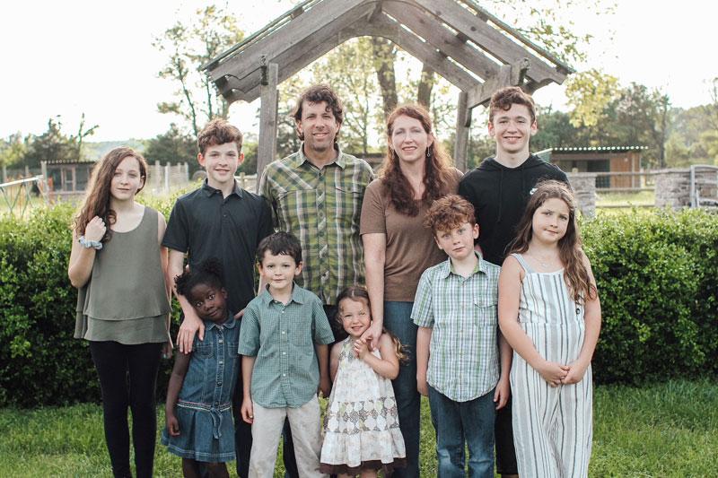 Hendricks Family photo